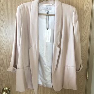 NWT French Connection Slouchy Pink Blazer